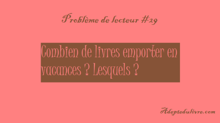 Problème de lecteur #29