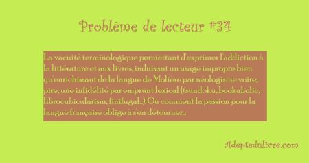 problème de lecteur #34